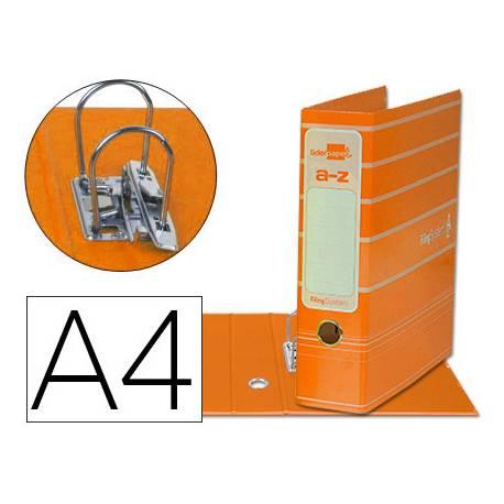Archivador de palanca Liderpapel Filing System A4 Lomo 75 mm color Naranja