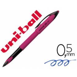 BOLIGRAFO UNI-BALL ROLLER AIR MICRO UBA-188EL-M 0,5 MM ROSA TINTA AZUL