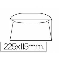 Sobre Americano Liderpapel 115x225mm 90g/m2 Color Blanco Pack de 10 unidades