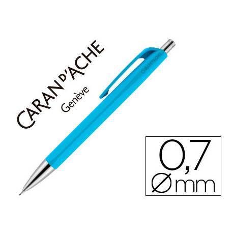PORTAMINAS CARAN D'ACHE 888 INFINITE 0,7 MM CELESTE