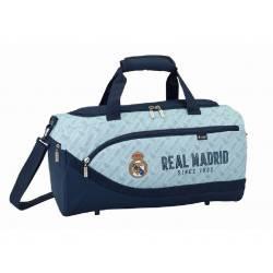 Bolsa Deporte Real Madrid 50x25x25 cm Azul Celeste