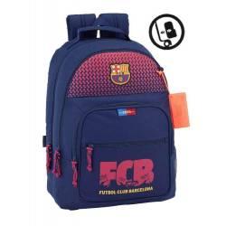 Mochila escolar F.C. Barcelona 42x32x16 cm Azul Adaptable a carro