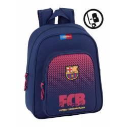 Mochila escolar F.C. Barcelona 38x32x12 cm Azul cm Adaptable a carro
