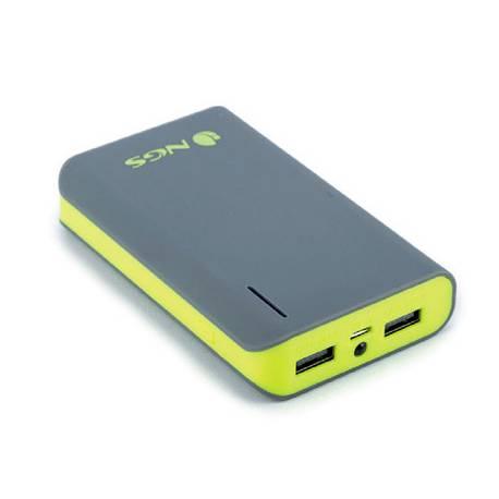 Batería auxiliar marca NGS Portátil Con 2 puertos USB Capacidad 6600