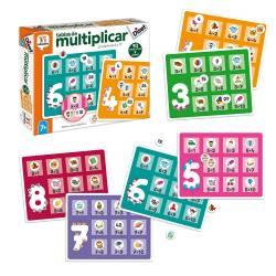Juego didáctico a partir de 7 años Tablas de multiplicar Diset