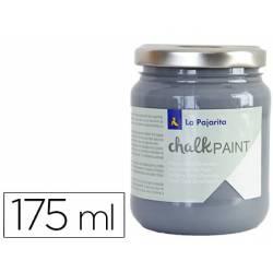 Pintura Acrilica La Pajarita Efecto Tiza Color Gris Urbano 175 ml Chalk Paint