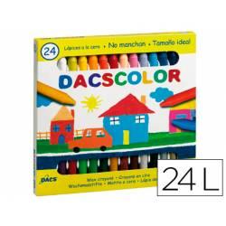 Lapices cera semiblanda DacsColor Alpino 24 unidades