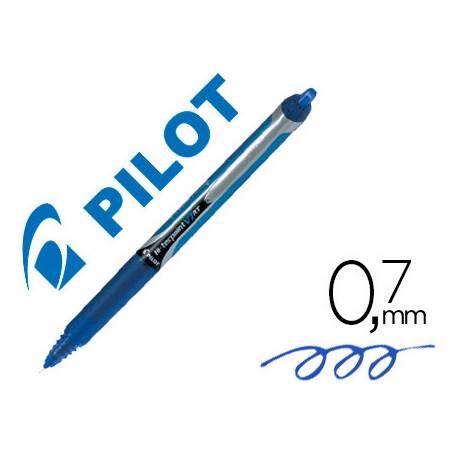 Pilot V-7 retractil 0.5 mm Color azul