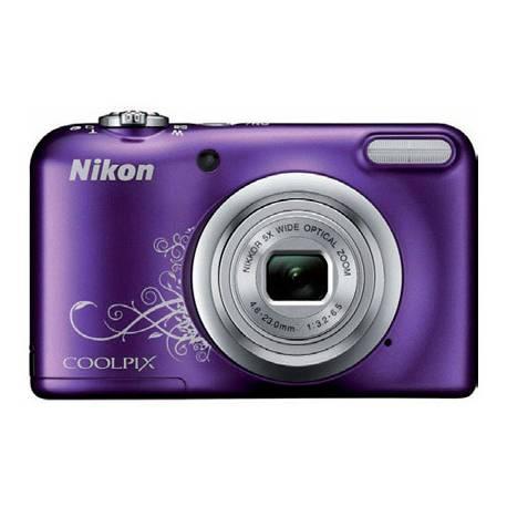 Cámara digital Nikon Coolpix A10 Morada de 16,1 MPX Zoom Optico 5X