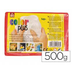 Arcilla Sio-2 Colorplus color rojo 500 g