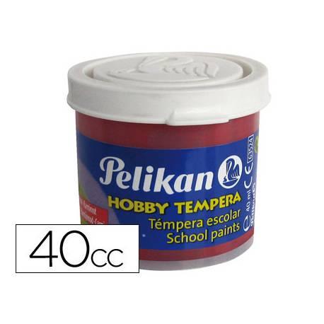 Tempera Pelikan color carmin 40 cc