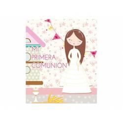 Libro de Recuerdo Comunion Arguval 29x24 cm Niña Vestido