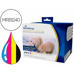 Cartucho compatible Brother LC1220/LC1240/LC1280 Multipack 5 cartuchos MRB1240