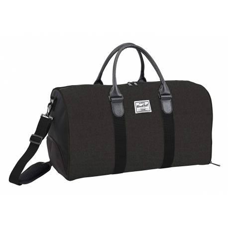 Bolsa Deporte Blackfit8 Black & Black 53x30x28 cm Poliéster