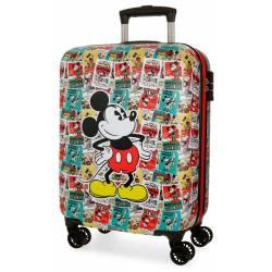 Maleta de cabina 54x36x20 cm Rigida Mickey de Posters