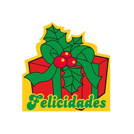 Etiqueta para regalo Arguval Felicidades Rollo de 250 unidades Modelo 116 Catalan