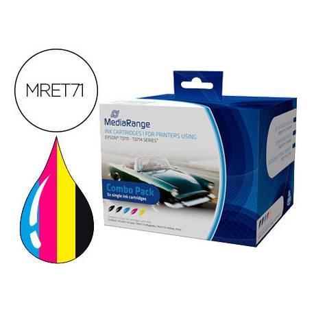 Cartucho compatible Epson T0711/T0714 Multipack MRET71